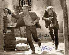 PAUL NEWMAN & ROBERT REDFORD BUTCH & SUNDANCE Photograph Autographs 8x10 RP