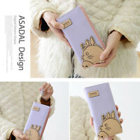 1Pcs Anime Totoro Zipper Clutch Long Wallet PU Leather Lady Purse Women Gift