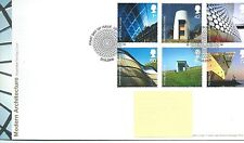 GB - FIRST DAY COVER - FDC - COMMEMS -2006- MODERN ARCHITECTURE - Pmk LONDON