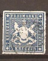 GERMANY  WURTTEMBERG  SC 44 USED  FVF