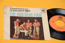 """BROTHERS FOUR 7"""" GREENFIELDS ORIG ITALY 1963"""