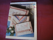 Clutches On The Go by Pat Porter (1983, PB) How To Sew 3 Purses Patterns Instruc