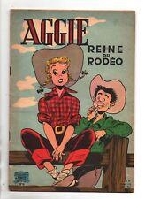 AGGIE n°6. Reine du Rodéo.  SPE 1,20 F - réédition 1963. Bel état