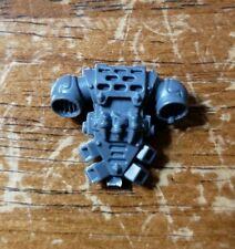 Warhammer 40k Space Marine Wolves Bits: ThunderWolf Backpack - Talismans