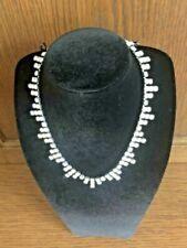 Crystal Silver Vintage Costume Necklaces