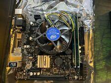 Intel Core i3 9100F - ASROCK H310CM-HDV MATX - 2x 4gb DDR4
