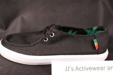 NIB VANS Rata Vulc SF (Hemp) Black Rasta Surf Siders Insole Shoes Mens 7