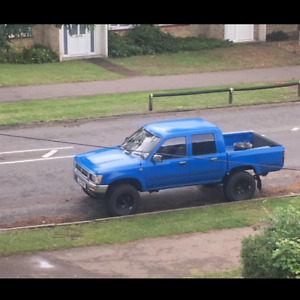 Rare 1994 Toyota Hilux Double Cab Pickup