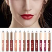12 Colors Matte Sexy Waterproof Liquid Lipstick Velvet Lip Gloss Beauty Makeup