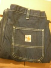 2 Carhartt FR Carpenter's Jeans Size 62X32 #290-83  (VG CONDITION)  #5D.57
