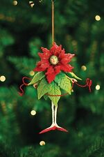 Patience Brewster - Ornaments - Poinsettia Girl - 08-30385