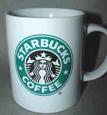 Starbucks 2008 Coffee Mug Cup 12 oz Black & Green Mermaid Collectible
