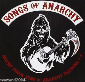 """Songs from """" Sons of Anarchy """" Seasons 1 - 4 - NEW CD ALBUM  Tv Soundtrack"""