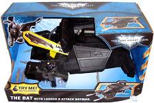 Batman The Dark Knight Rises The Bat Vehicle MIB With Launching Batman Figure