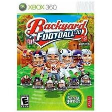 Backyard Football 2010 - Xbox 360 - COMPLETE - EASY GAMERSCORE