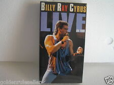 Billy Ray Cyrus Live on Tour 1992 New VHS Sealed in Original Wrap HI-FI Stereo