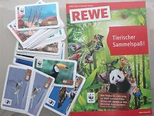 10 WWF-Sammelbilder Tier-Abenteuer // Sticker von REWE zum Aussuchen