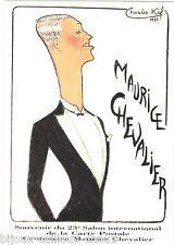 Carte postale MAURICE CHEVALIER par Charles Kiffer ( KIF )