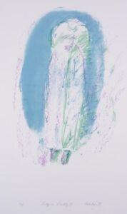 David RANKIN Lily in Lodz III - Large Original Signed Portrait, Expressionist