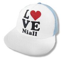 One Direction Love Heart Naill Mesh Trucker Hat Cap New Official 1D Baseball