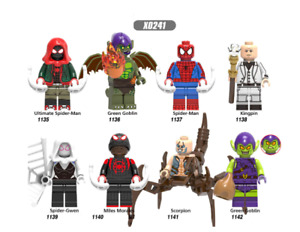 NEW MINIFIGURES lego MOC Super Hero Agent Zero Green Goblin Ultimat