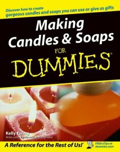 Making Candles and Soaps For Dummies by Ewing, Kelly Paperback Book The Cheap