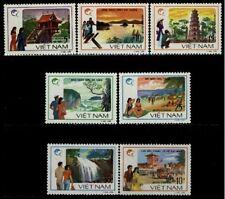 N.Vietnam MNH Sc # 1841-47 Mi 1906-12 Value $ 5.50  US $$ Tourism
