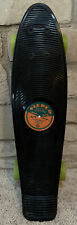 """Stereo Skateboard Black Vinyl Penny 22 inch """"Medley Of Sound"""" Excellent Cond!"""