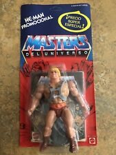 Vintage RARE He-Man Masters of the Universe MOTU 1988 Spain Promotional MOC
