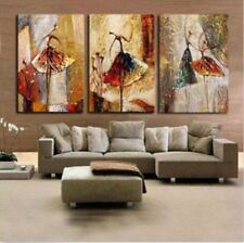 Modern Abstract hand-painted Art Oil Painting Wall Decor canvas (No frame)