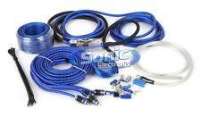 Stinger SK6681 8 AWG Gauge 6000 Complete Amplifier/Amp Installation Kit