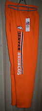 Denver Broncos Official NFL Team Apparel Yth LG Sweatpants New with Tags Ret $42