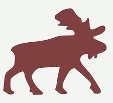 Moose Stencil Primitive Lodge Cabin Sign Crafts Moose