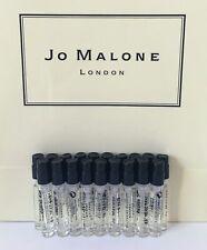 Jo Malone Perfume Cologne Vials Spray 1.5ml English pear freesia or Peony blush