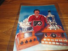 BERNIE PARENT 8X10 AUTOGRAPH IN HOLDER WITH COA