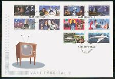 MayfairStamps Sweden 1999 Television Arts Combo of 10 Performing Art First Day C