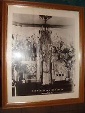 The Promised High Priest Alfa Elfa Sette Clergyman at Ornate Church Altar framed