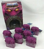 Masters of the Universe Eternia Minis Wave 2 Complete Set A-H & Display Box 2020