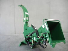 "HAYES PTO TRACTOR WOOD CHIPPER MULCHER 6"" HYDRAULIC FEED - BX62R - 3PL"