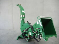 "HAYES PTO TRACTOR WOOD CHIPPER MULCHER 6"" HYDRAULIC FEED - 3PL"