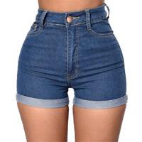 Women Shorts Jeans High Waist Mini Party Beach Hot Sexy Denim Pants Summer