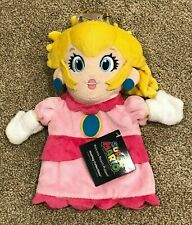 Princess Peach Nintendo Super Mario - Hashtag Collectibles Plush Puppet NWT