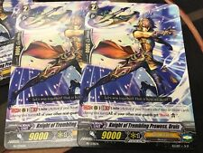 CARDFIGHT VANGUARD - Knight of Trembling Prowess Druis x2 - Promo - NM **HoT**