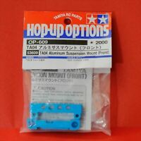 Tamiya OP.609 TA04 AlumiSusMount front desk Blue Hop-Up Options from Japan