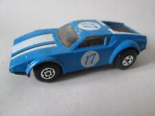 1975 Matchbox Superfast Blue #17 De Tomaso Pantera Sports Car #8 Hong Kong