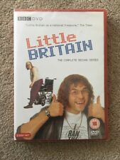 LITTLE BRITAIN The Complete Second Series DVD 2 Disc Set Brand New Sealed