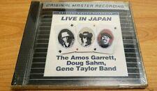 Amos Garrett Live In Japan Sahm Taylor Band MFSL CD Mobile Fidelity OMR Sealed!