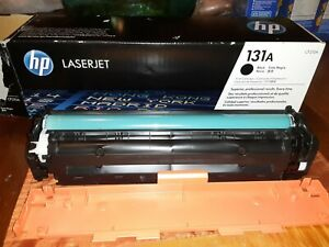 NEW HP CF210A Black Toner Cartridge 131A Genuine SEALED BOX