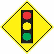 TRAFFIC LIGHT AHEAD / WARNING SIGN / CAUTION SIGN / ROAD SIGNS, room decor