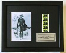 More details for rio lobe 1970 - john wayne signed reproduction original filmcell memorabilia